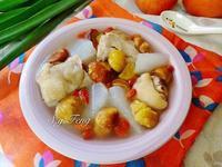 栗子蘿蔔雞湯