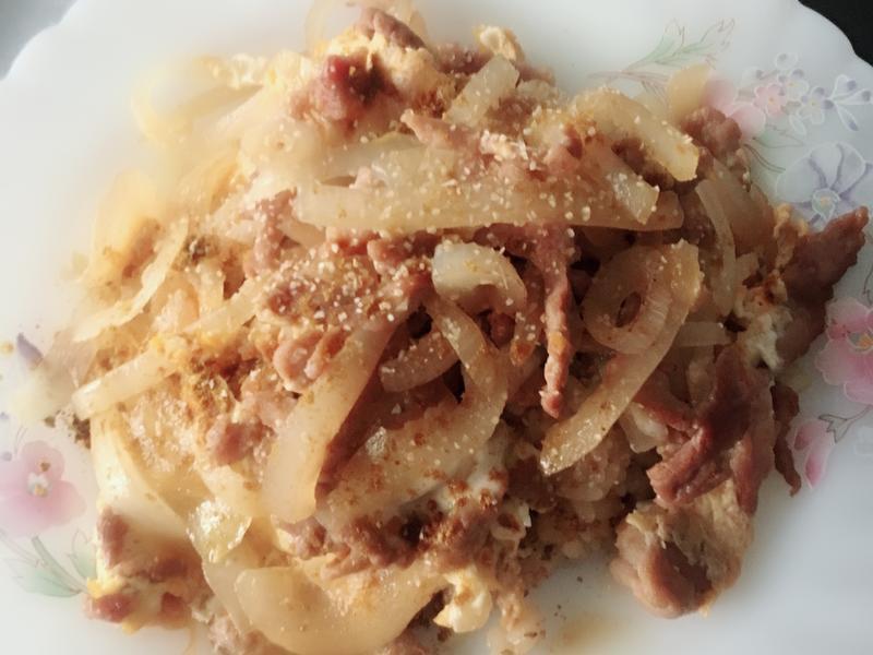 紅藜日式親子丼(豬肉篇)