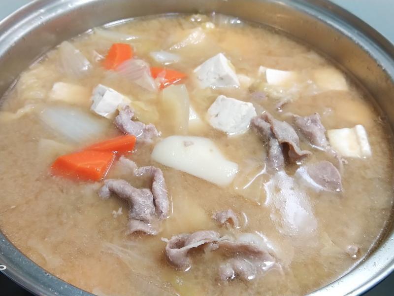 味增豬肉湯