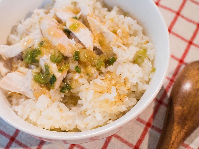 日式海南雞飯