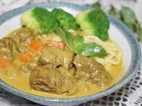 咖哩牛肉麵