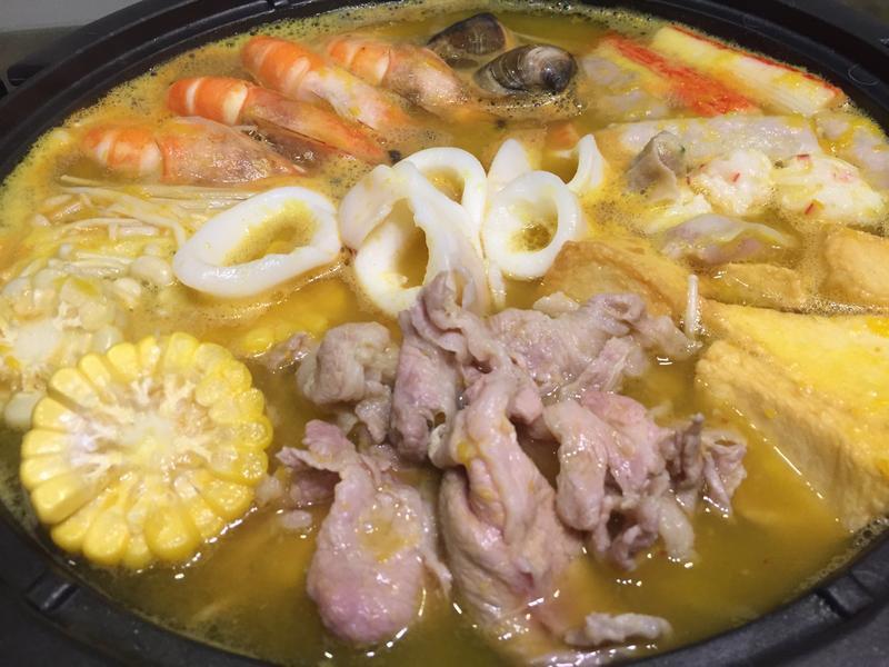 南瓜火鍋湯頭