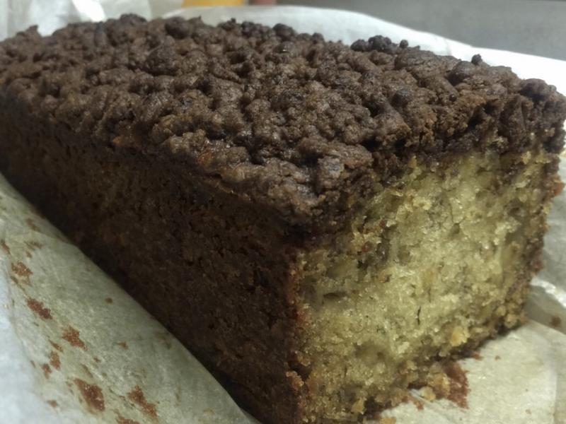 巧克力頂酥香蕉蛋糕
