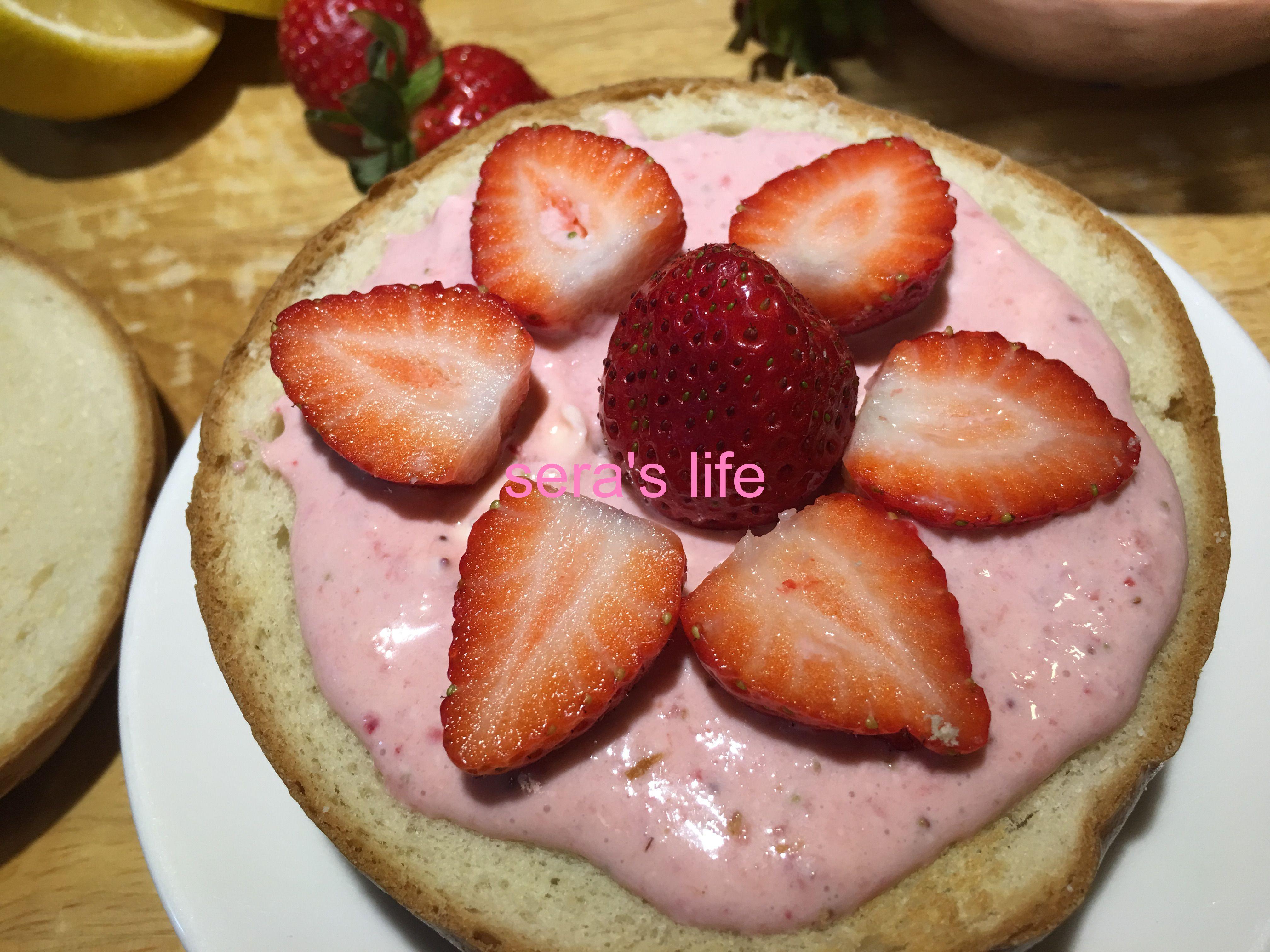 草莓乳酪抹醬