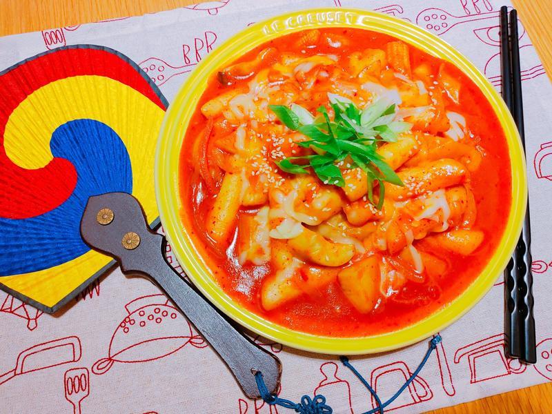 韓國泡菜起司辣炒年糕