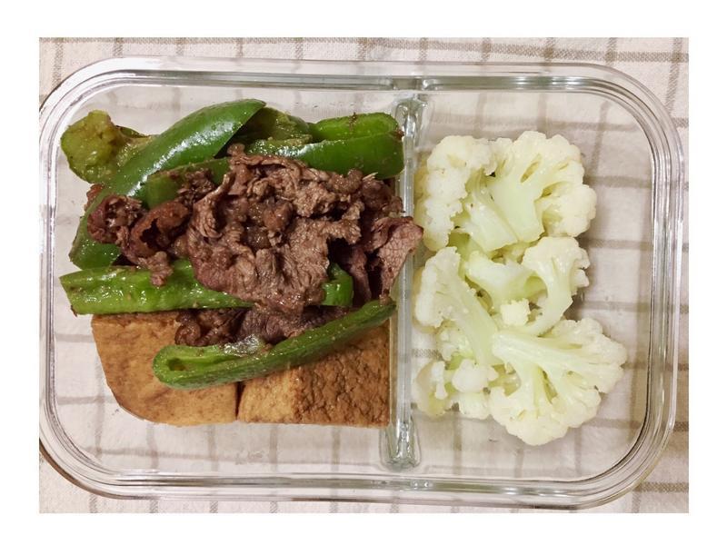 增肌減脂便當-青椒炒牛肉