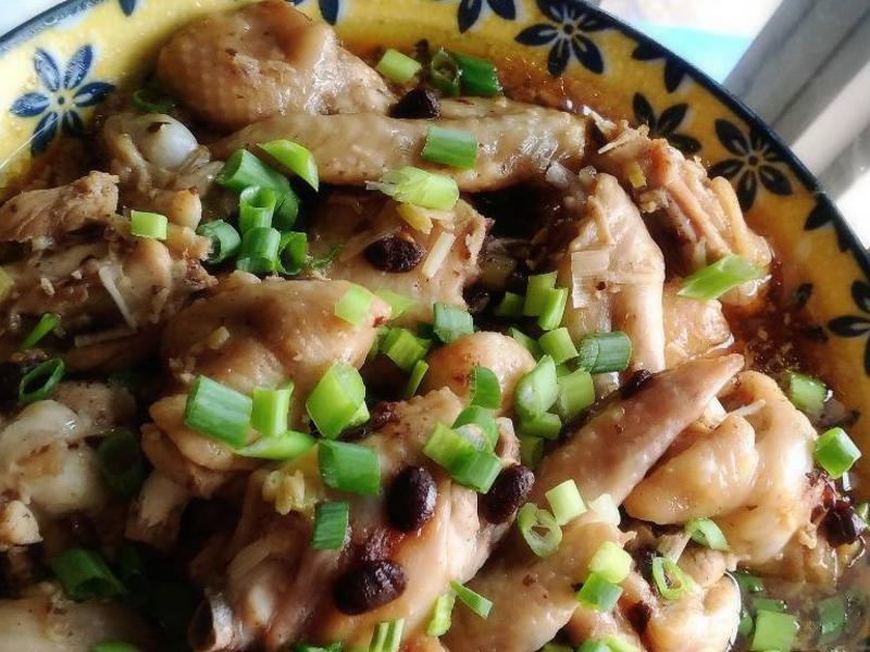 醬拌豆豉蒸雞翅