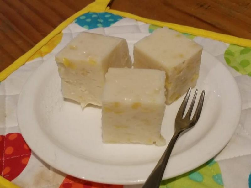 椰汁馬豆糕 (免洋菜/明膠)