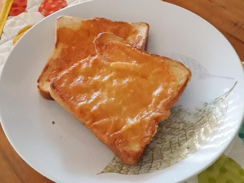 芝士吐司 cheese toast