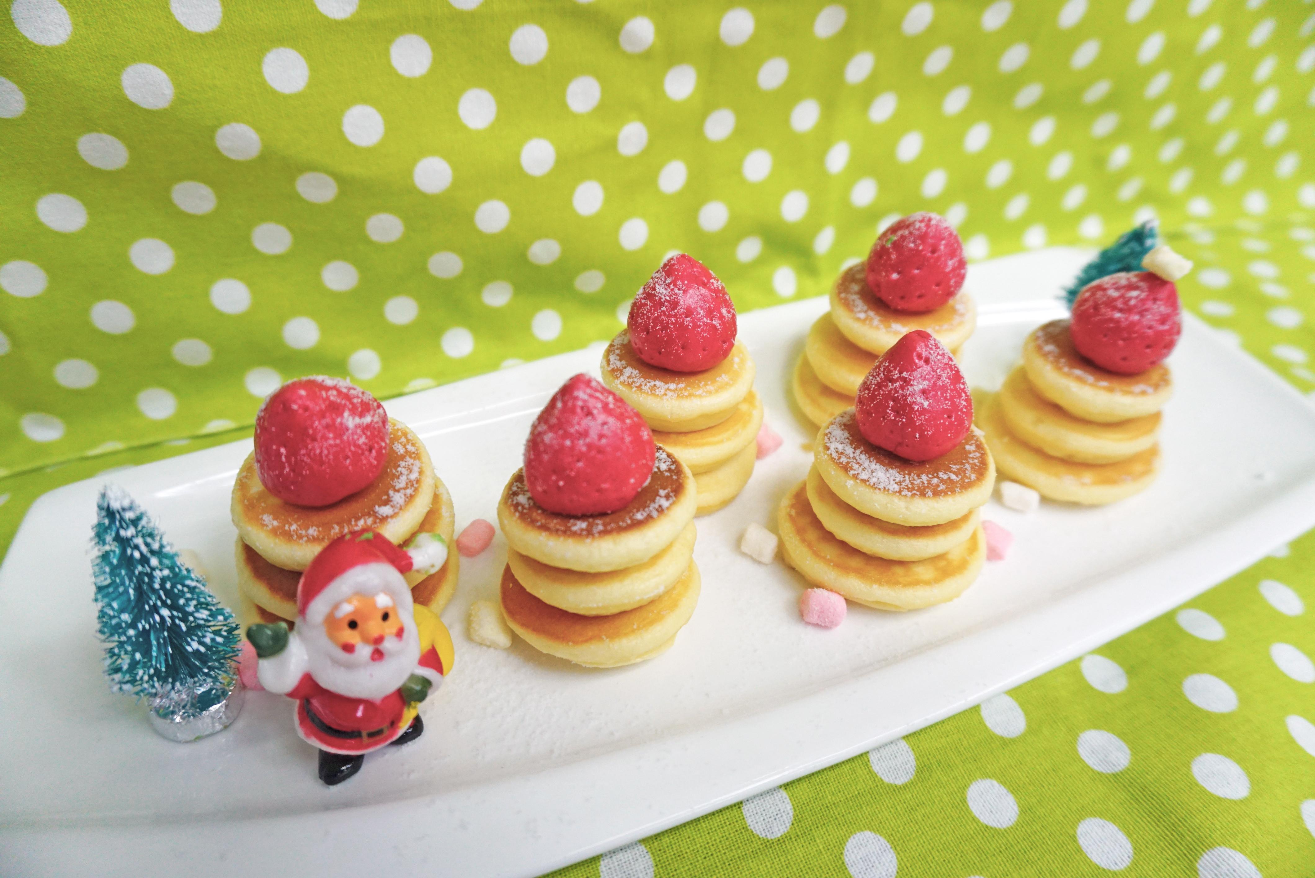 Pancake鬆餅迷你聖誕樹