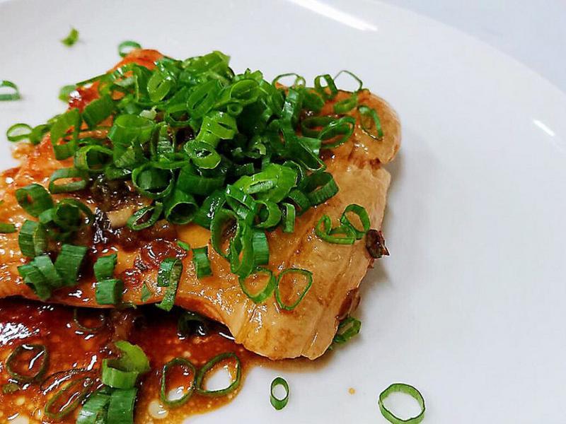 醬燒鮭魚腹
