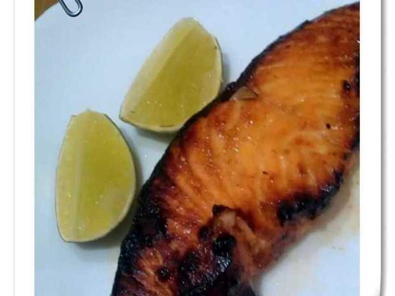 烤味增鮭魚