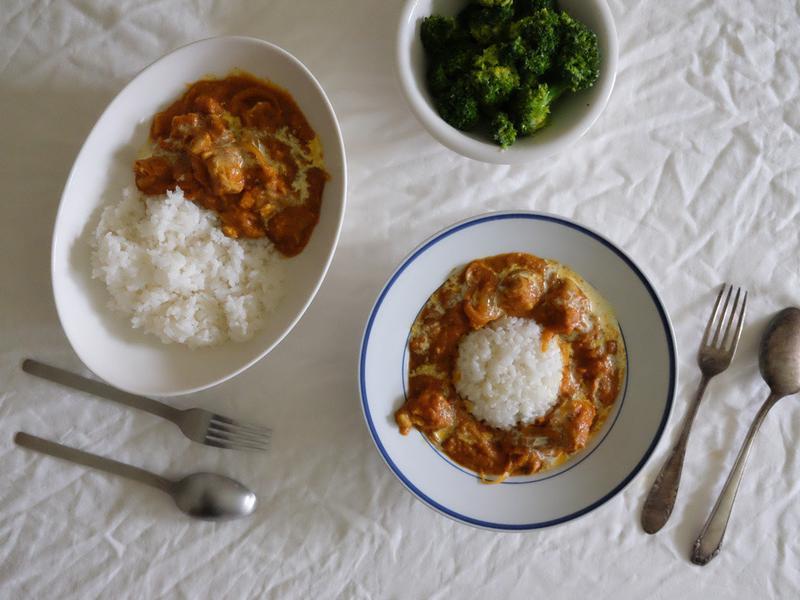 偷呷步の煮 #1 - 奶油咖哩雞肉飯