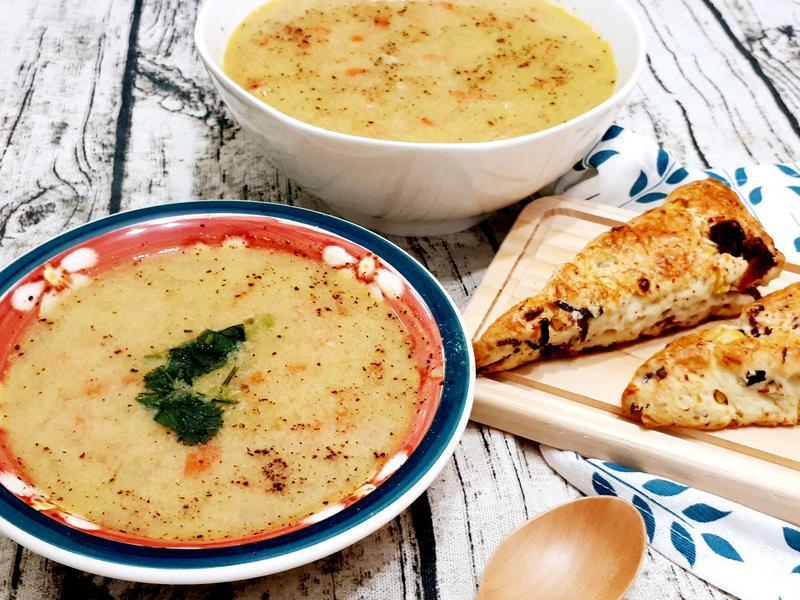 培根蘑菇玉米濃湯