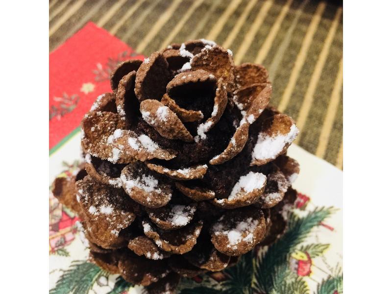 聖誕節~松果蛋糕
