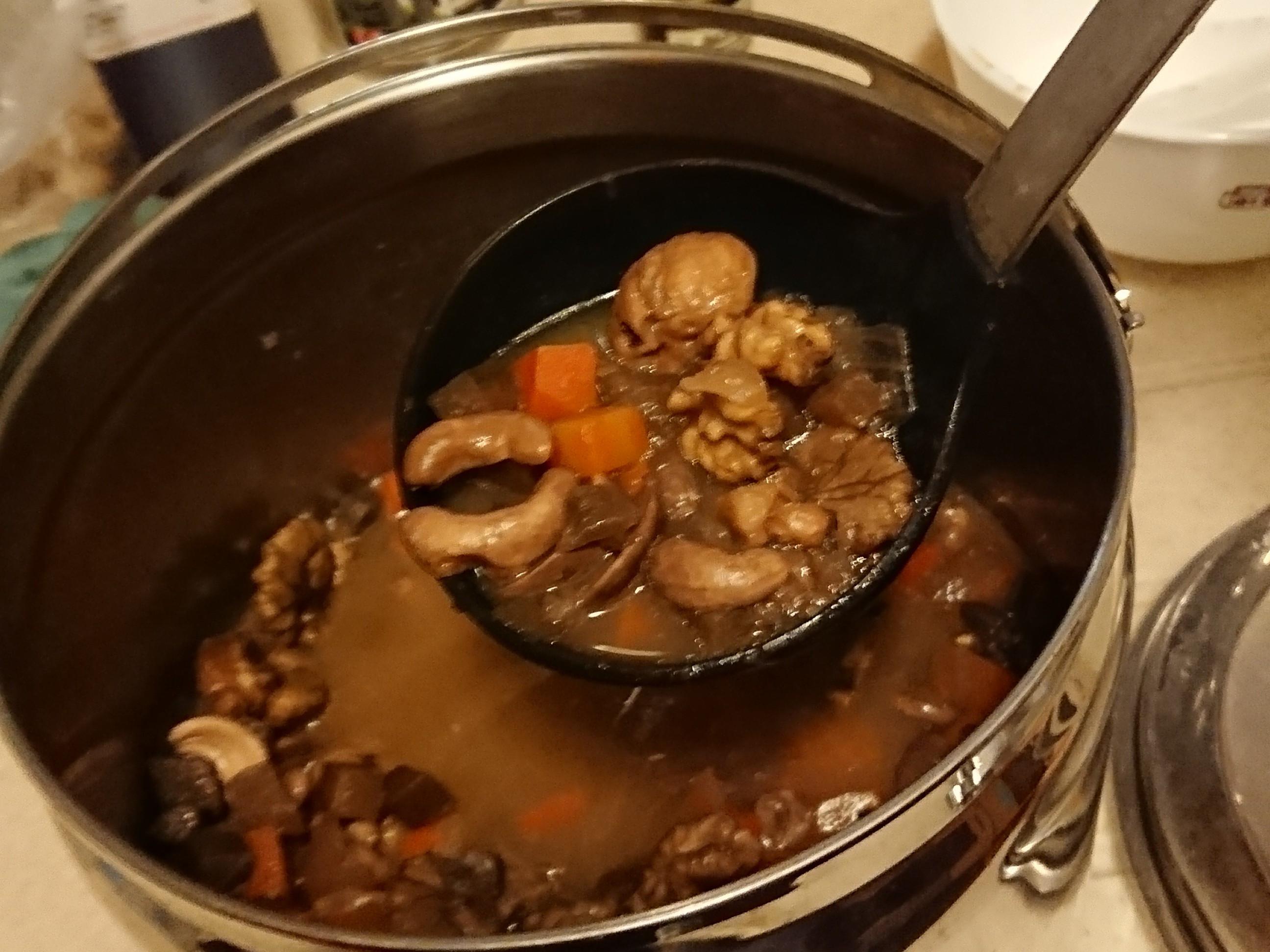 紅菜頭果仁湯(全素)