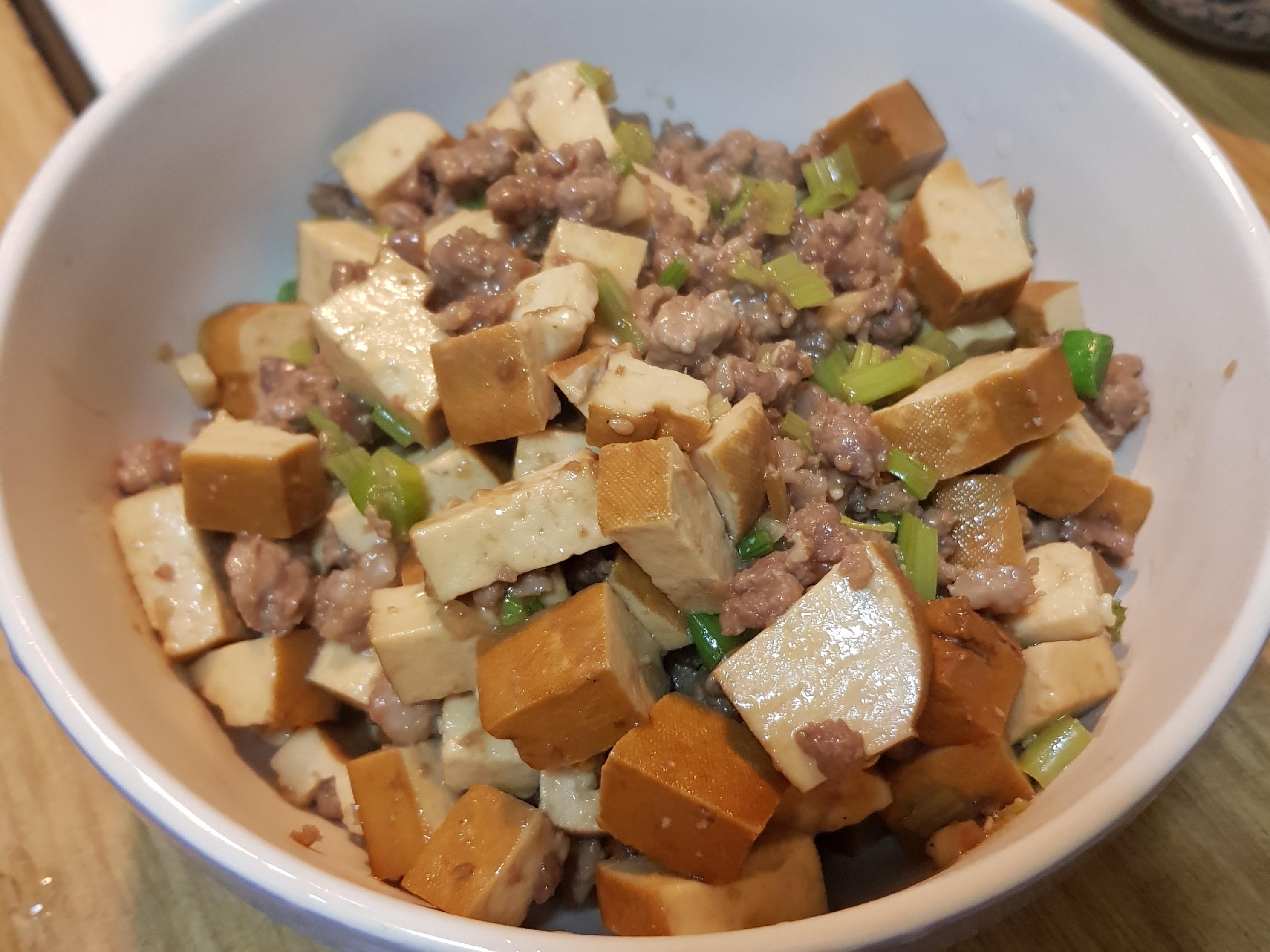 肉燥炒豆干