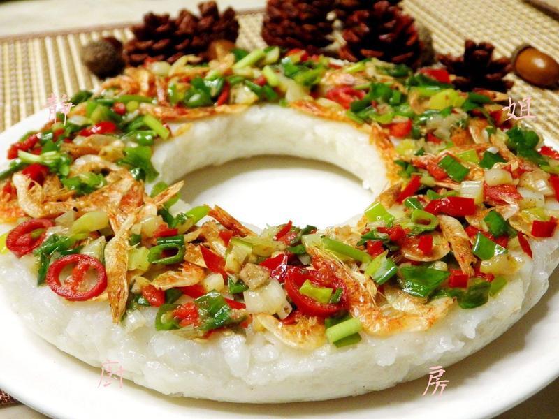 櫻花蝦蘿蔔糕