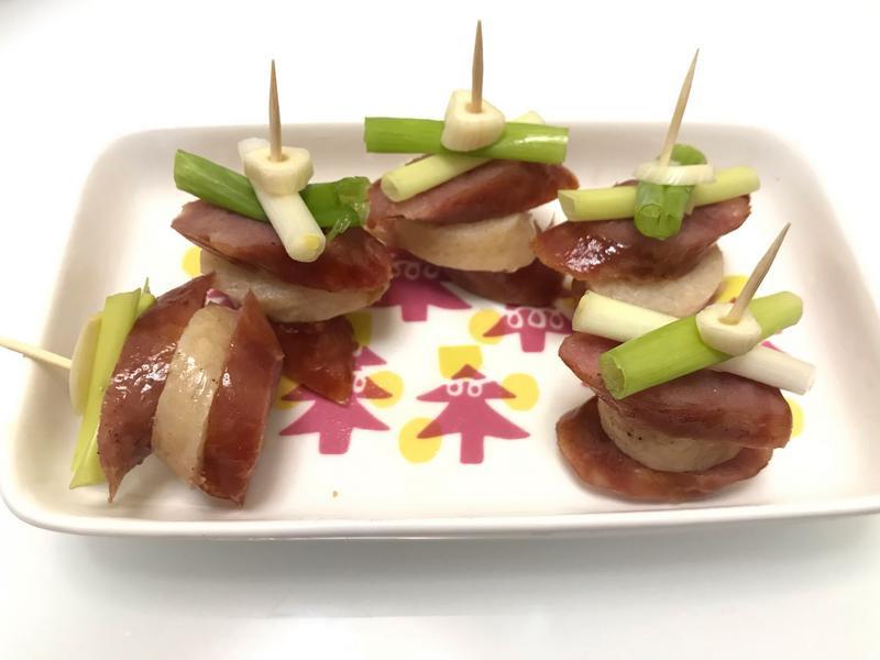 👨🏻🍳烤香腸串-簡易招待客菜