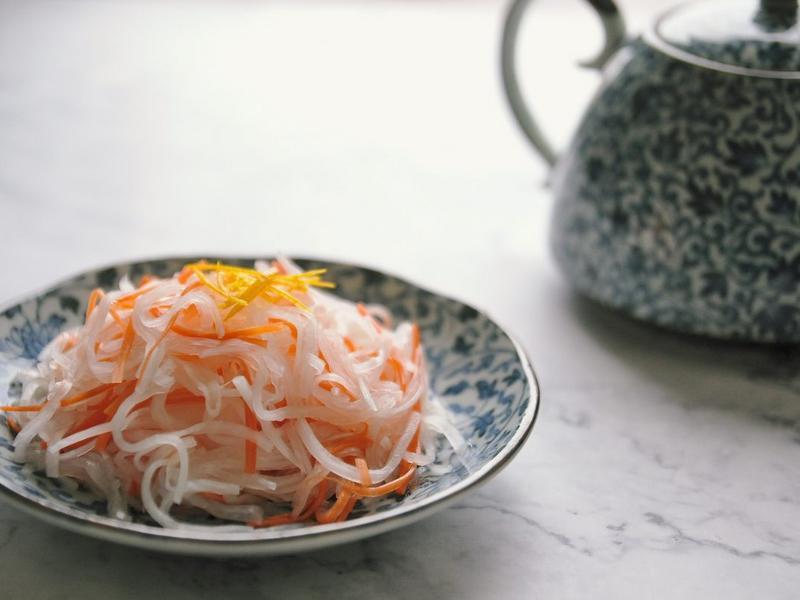 常備菜:醋漬蘿蔔絲