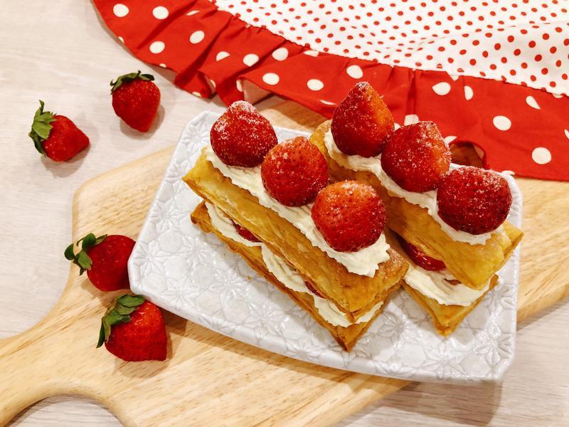 草莓起酥派🍓