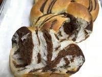 巧克力扭紋麵包 (可可粉)