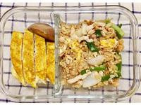 增肌減脂便當-青椒肉絲蛋炒飯