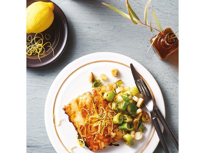 檸香土魠魚佐柚子醬