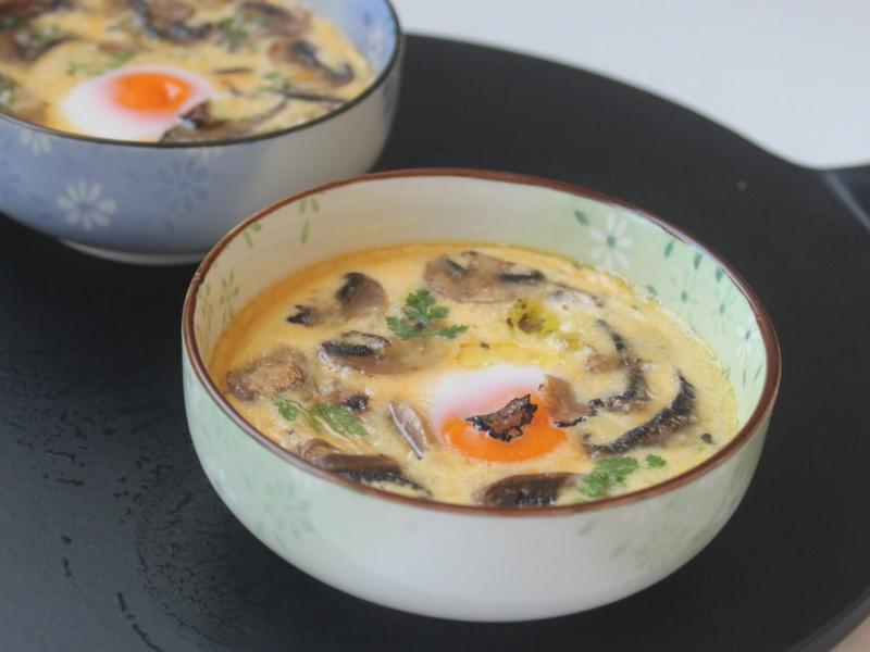 黑松露蘑菇燉蛋