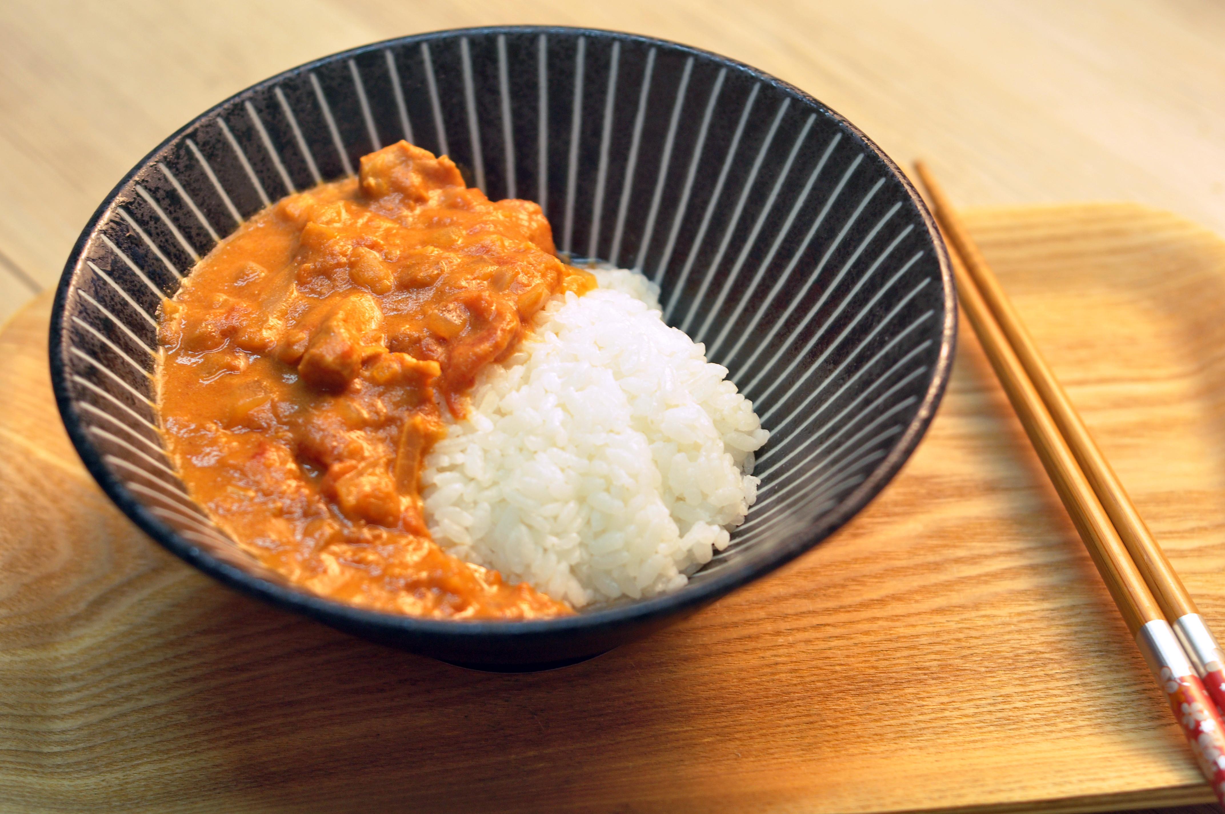 電鍋料理-超濃郁【番茄咖哩飯】