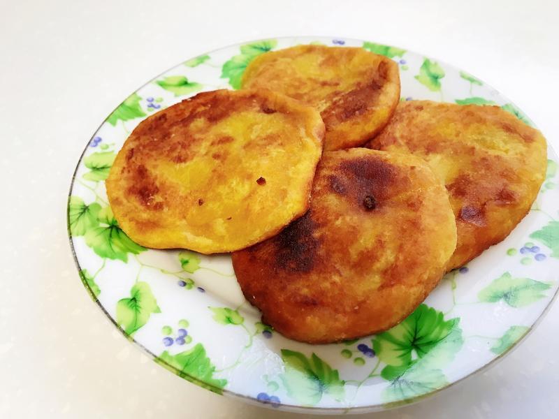 地瓜糯米餅(素食可,無麩質)