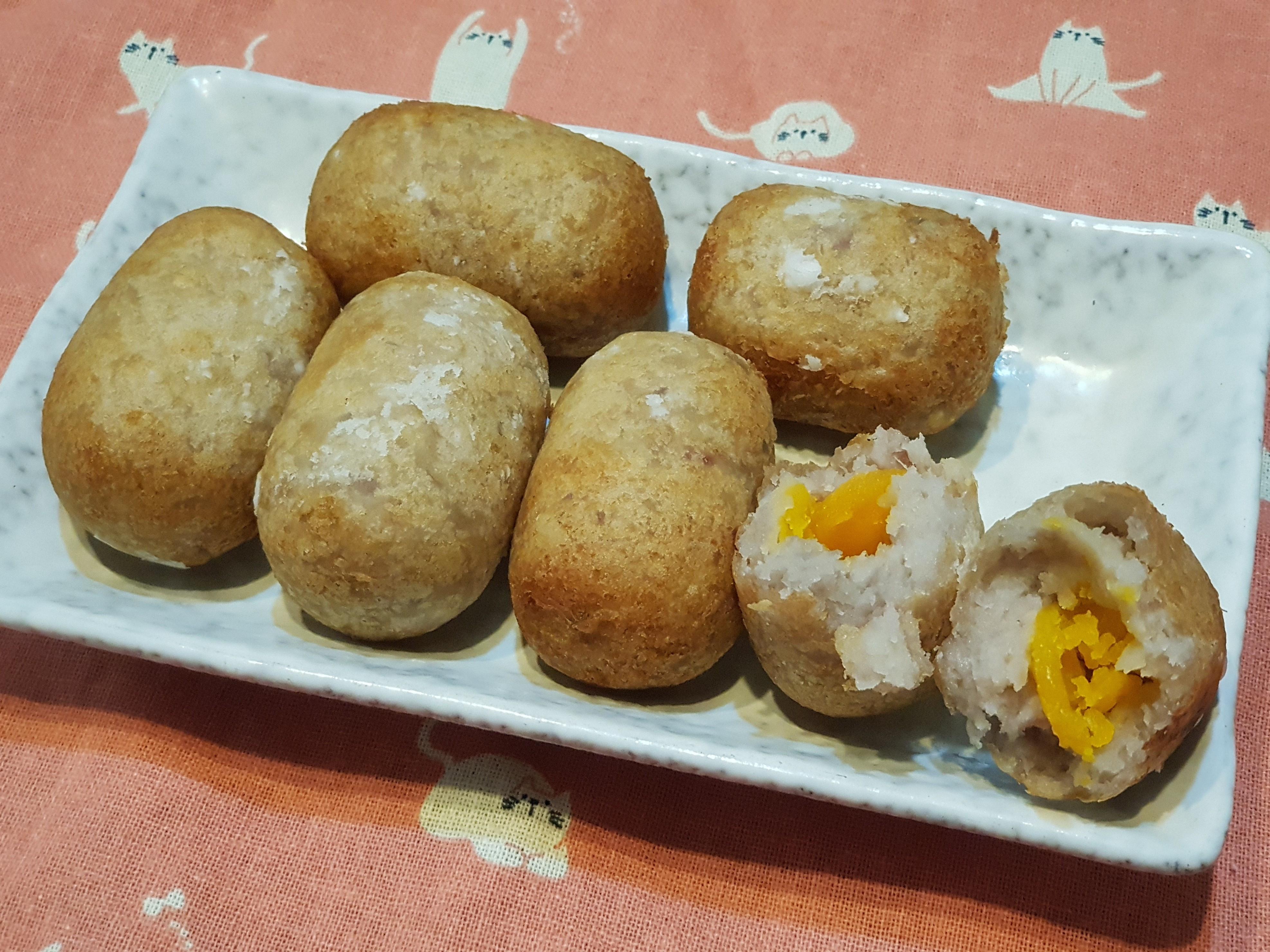 蛋黃芋棗~台灣古早味甜點