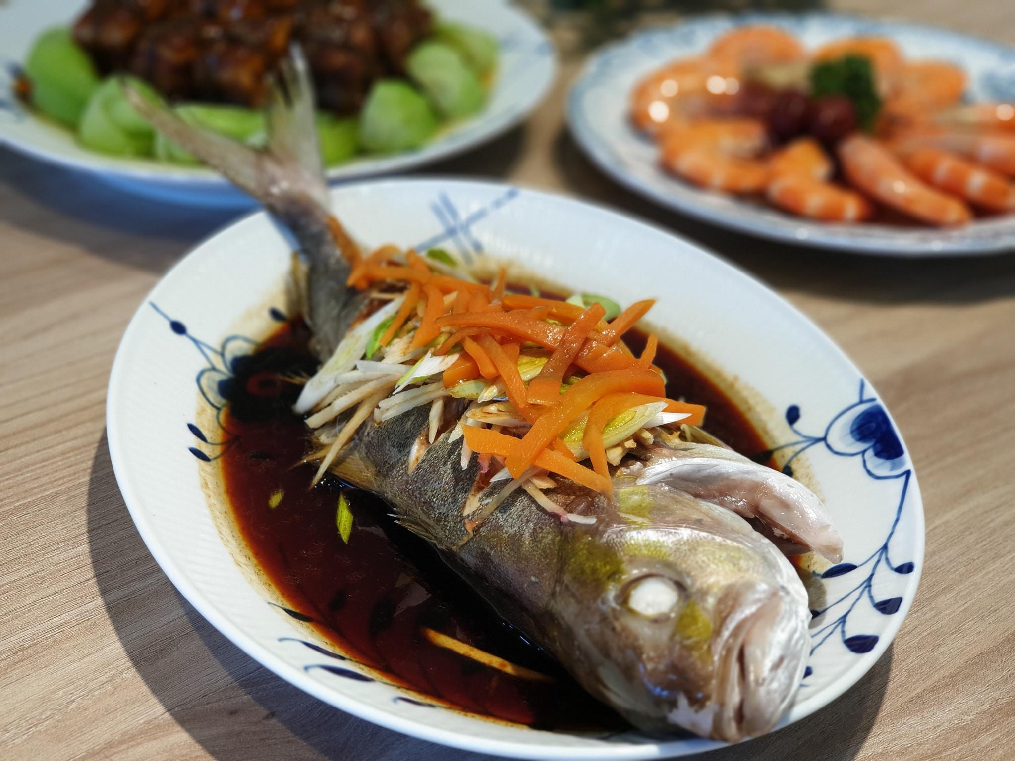 熱油版清蒸鮮魚