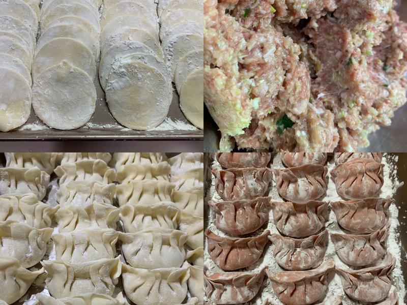高麗菜水餃(自製水餃皮)