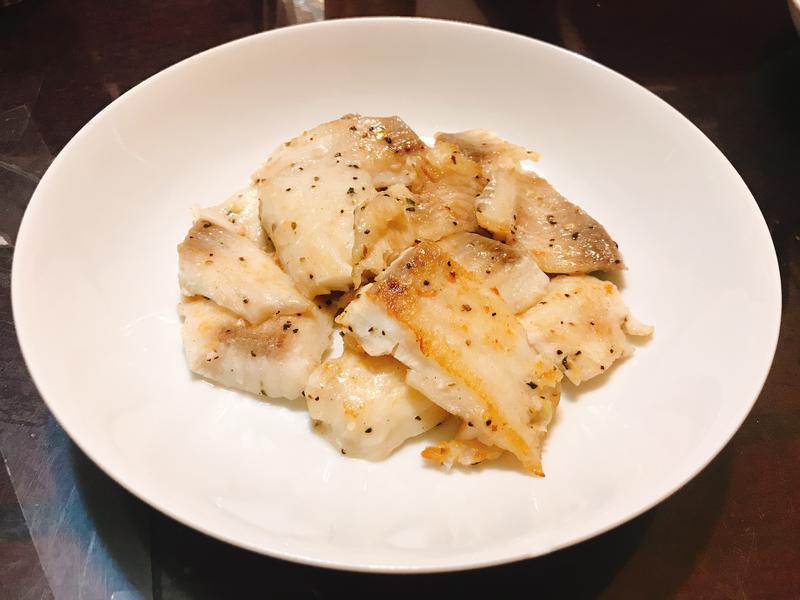 香蒜黑胡椒鯛魚片