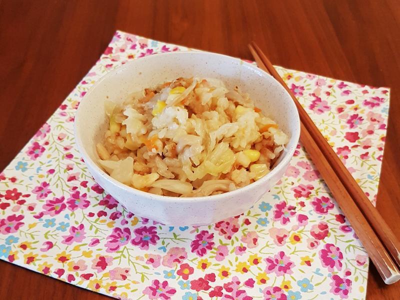 日式野菜炊飯