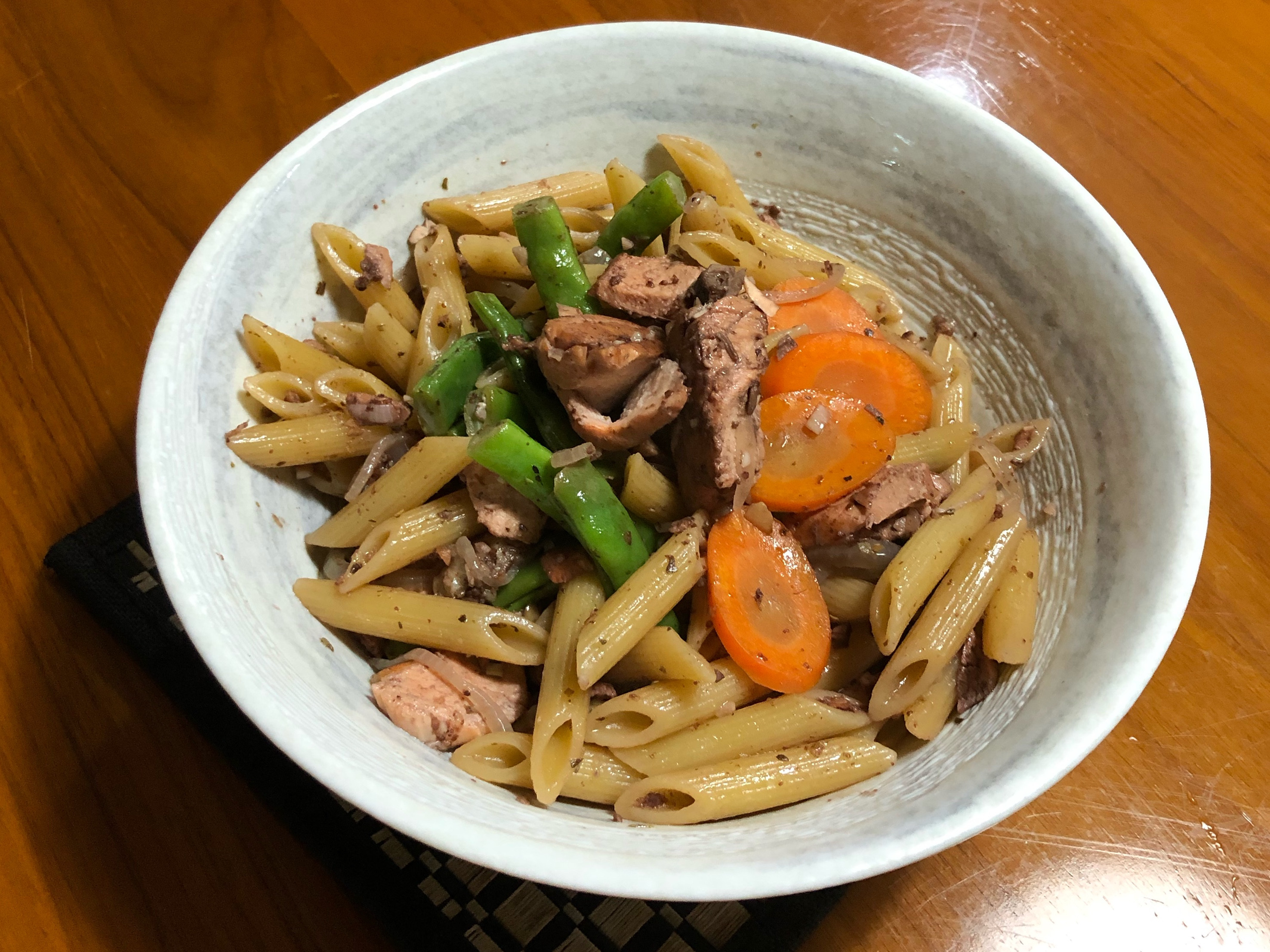 紅酒鮭魚義大利麵