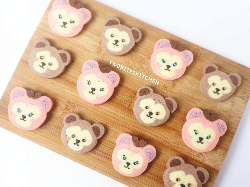 達菲熊&雪莉玫冰盒餅乾