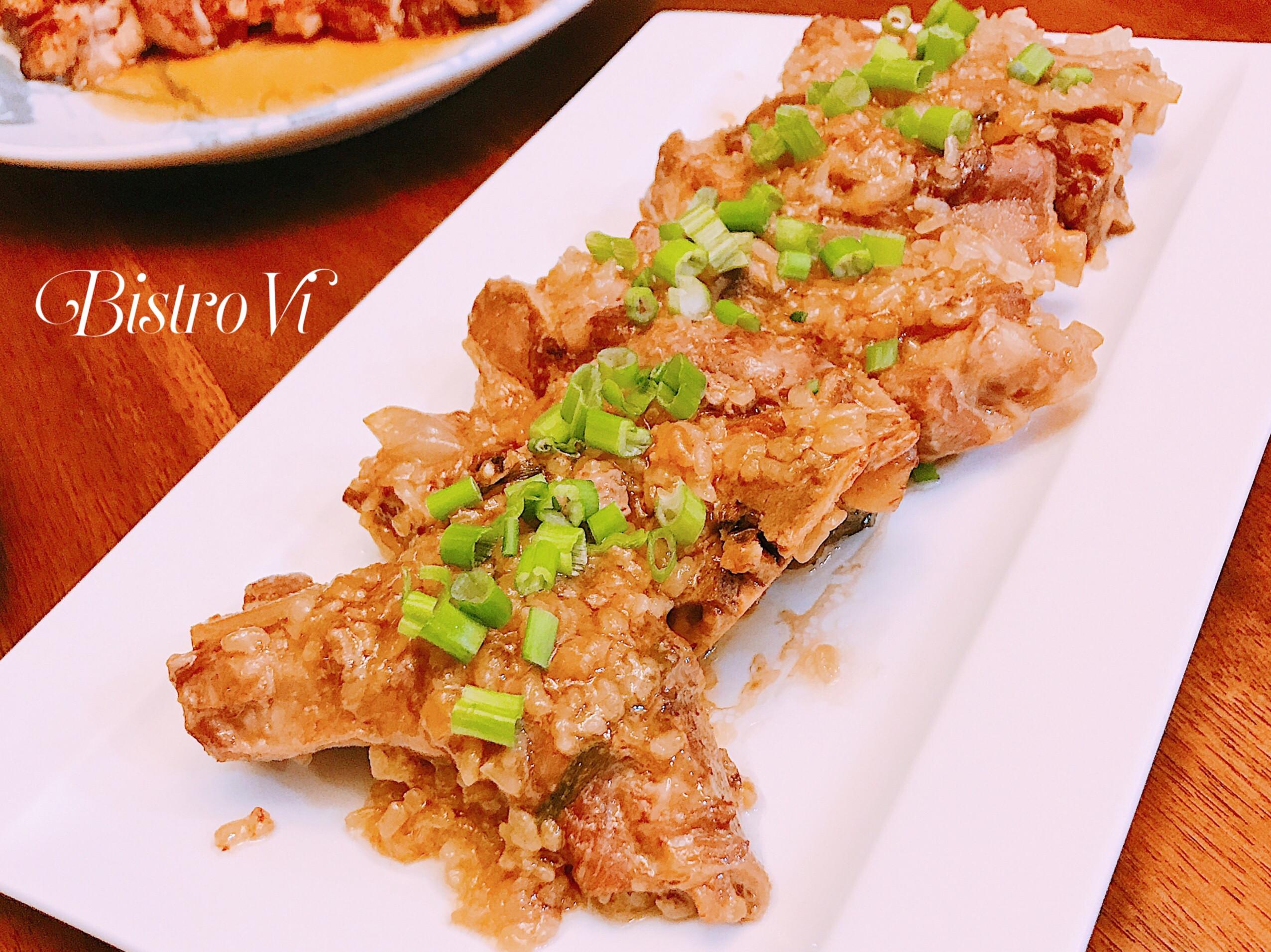 [簡易電鍋料理] 糯米蒸排骨