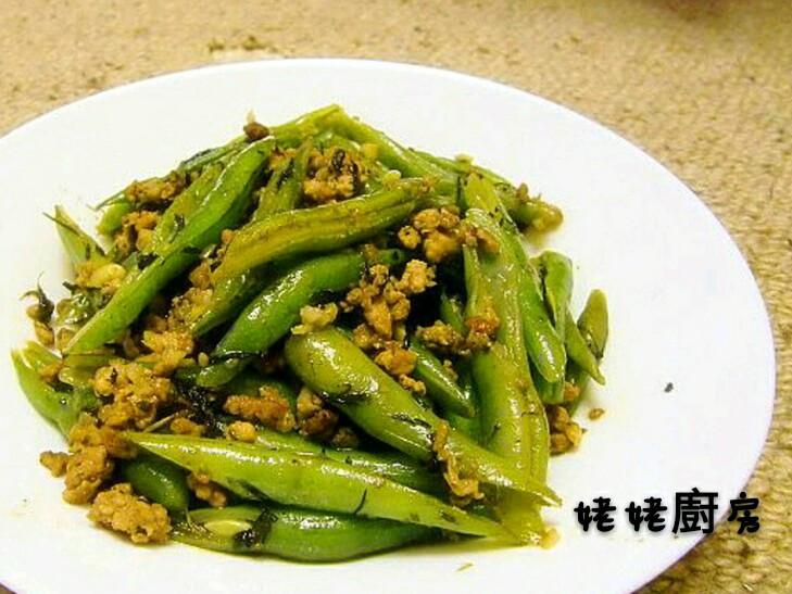 欖菜肉碎四季豆