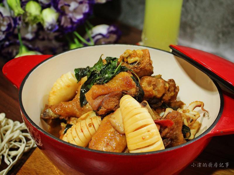 【薩索雞】塔香醬燒雞