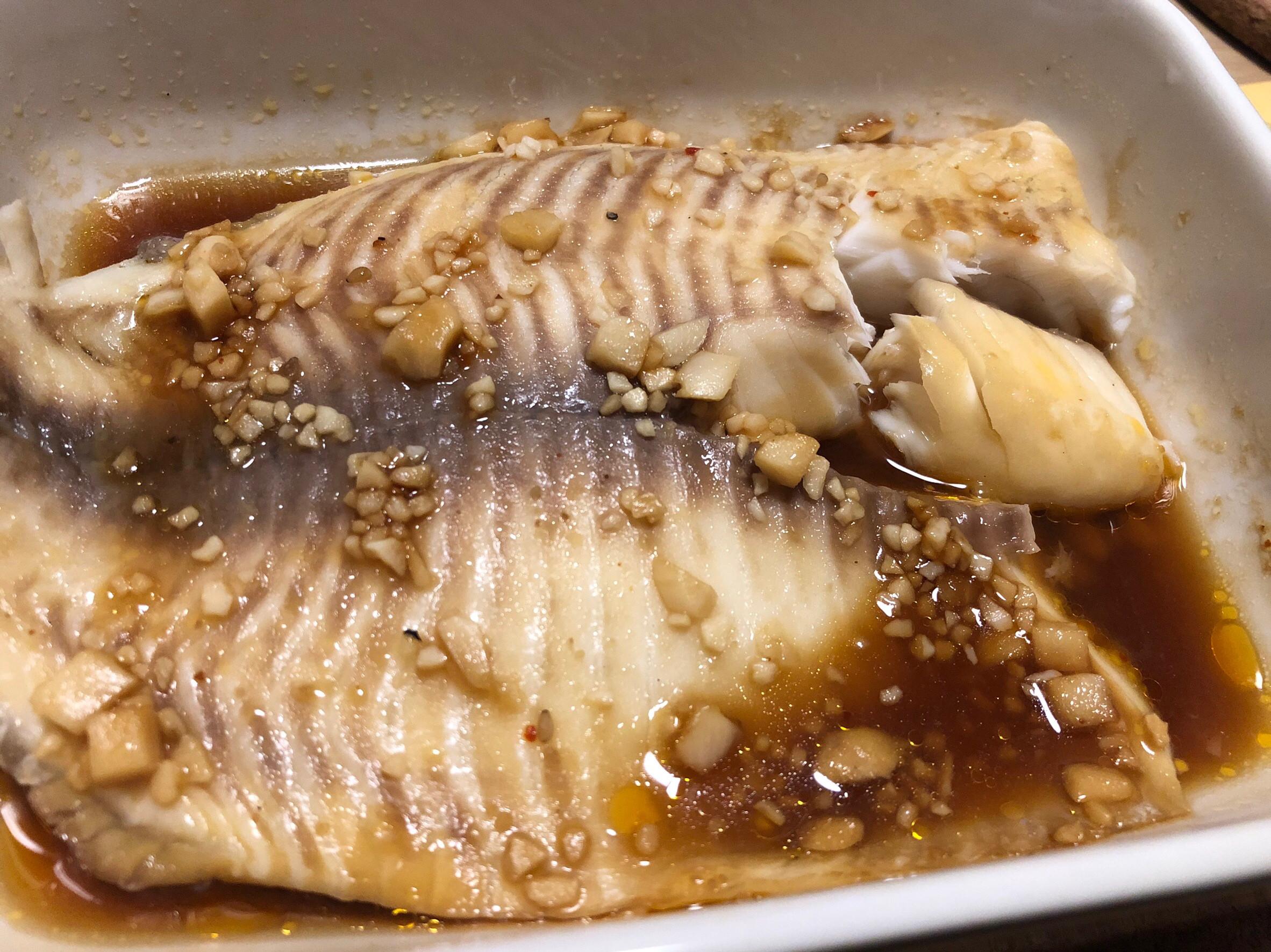 蒜香魚片-小波版