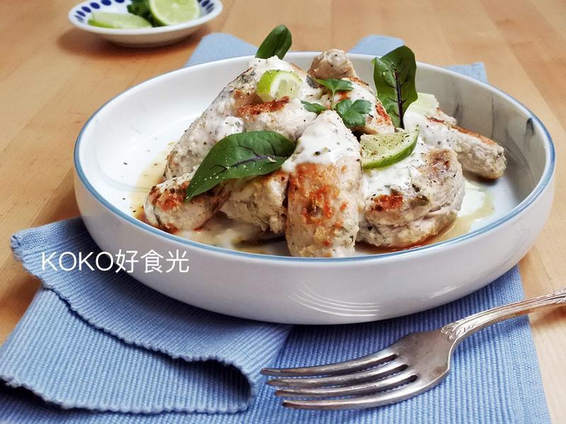 希臘風香草優格雞胸