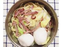增肌減脂便當-清炒高麗菜火腿義大利麵