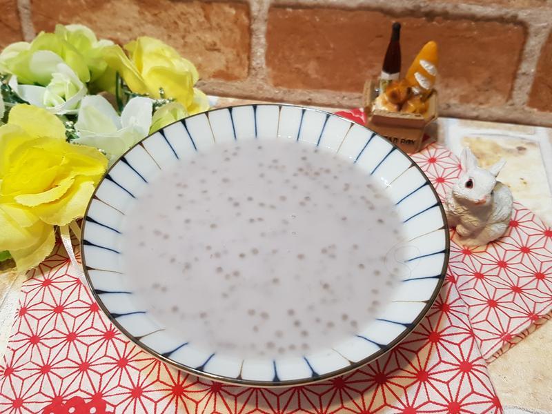 濃濃芋泥椰奶西米露
