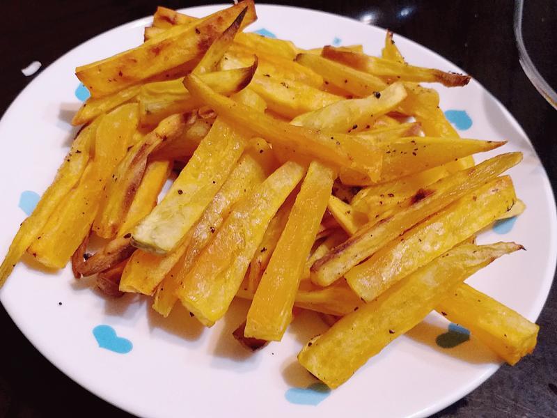 【非油炸】🍠烤薯條