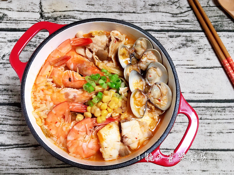 泡菜海鮮粥🍲一鍋到底