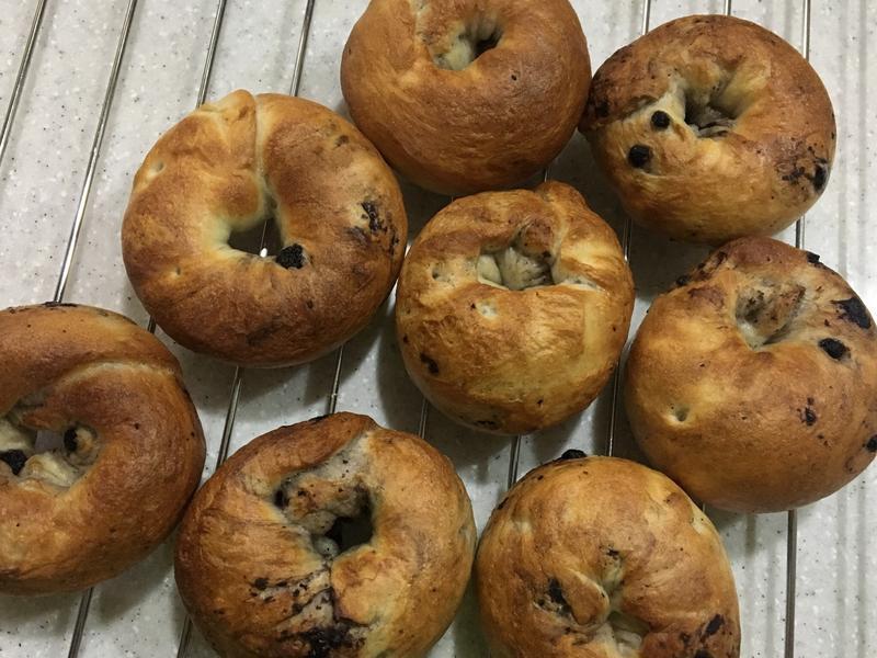 藍莓貝果(麵包機麵團)