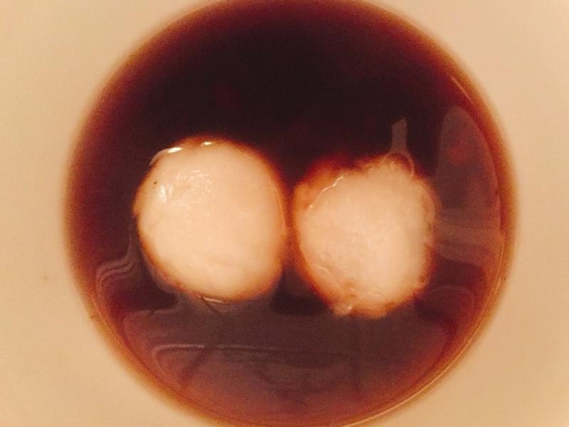 手工紅豆芝麻湯圓