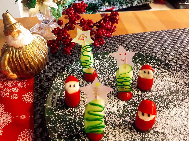 小黃瓜聖誕樹 聖誕節食譜